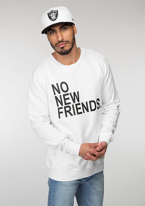 Mister Tee No New Friends white