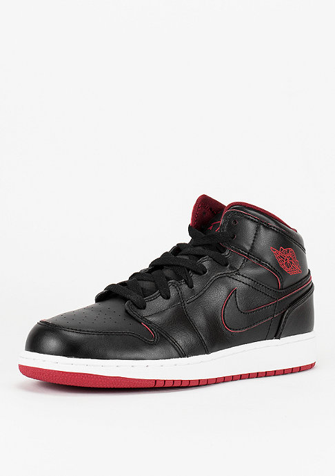 JORDAN Basketballschuh Air Jordan 1 Mid BG black/black/white