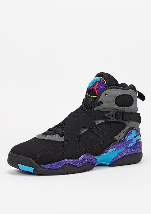 JORDAN Basketballschuh Air Jordan 8 Retro BG black/t.red/f.grey
