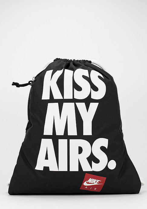 NIKE Heritage Kiss My Airs black/white