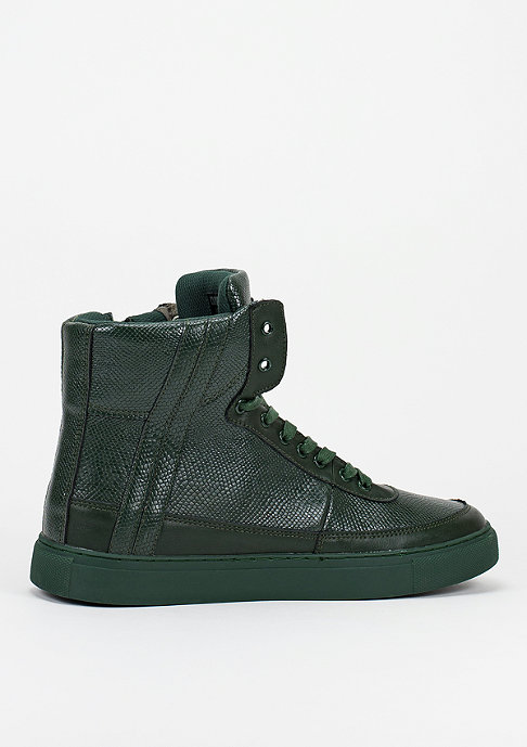Criminal Damage Schuh Python Mid Top olive
