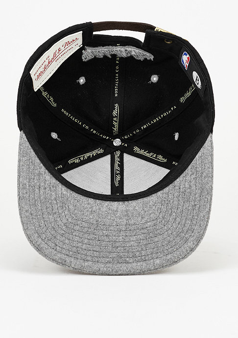 Mitchell & Ness Strapback-Cap Heather Melton Visor NBA Brooklyn Nets