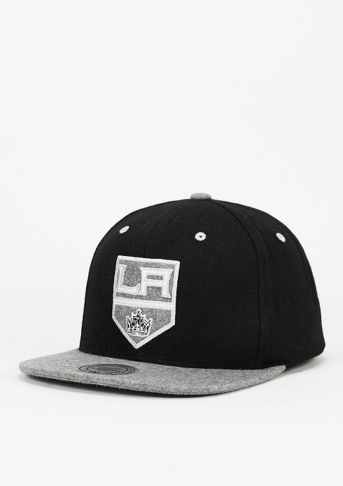 Mitchell & Ness Strapback-Cap Heather Melton Visor NHL LA Kings