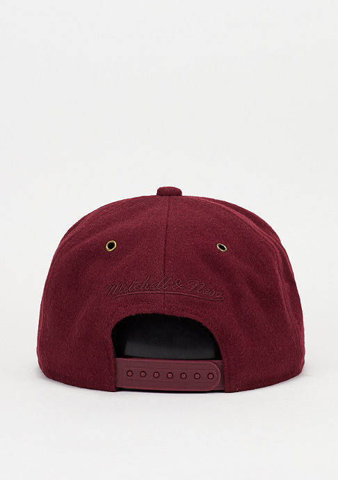 Mitchell & Ness Prime burgundy/grey