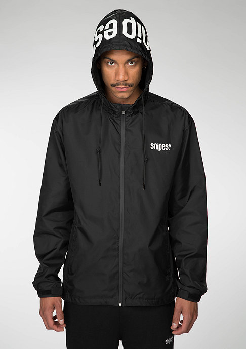 SNIPES Jacke Glow In The Dark black