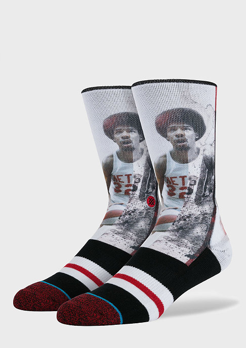 Stance Fashionsocke Dr. J-Ink Splatter black/red