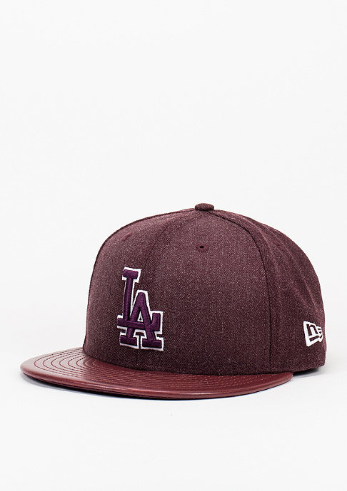 New Era Heather Leather MLB Los Angeles Dodgers