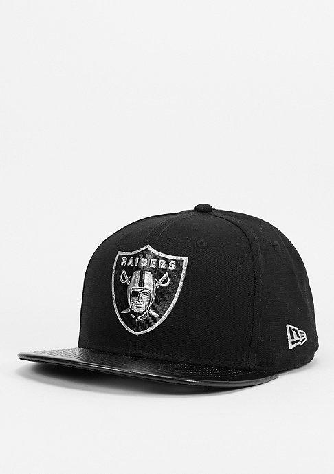 New Era Fabric Mix NFL Oakland Raiders black