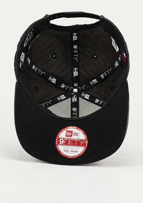 New Era Snapback-Cap Leather Wave MLB New York Yankees black