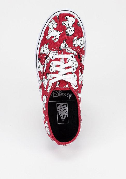 VANS Schuh Authentic Disney dalmatians/red