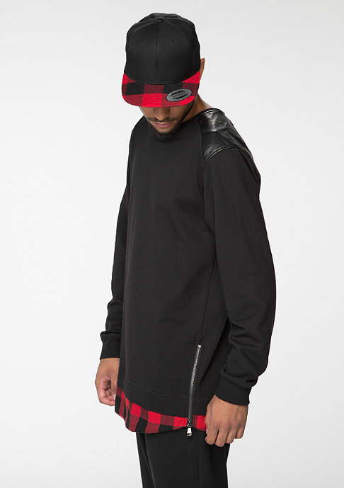 Future Past Extended Checked black/red