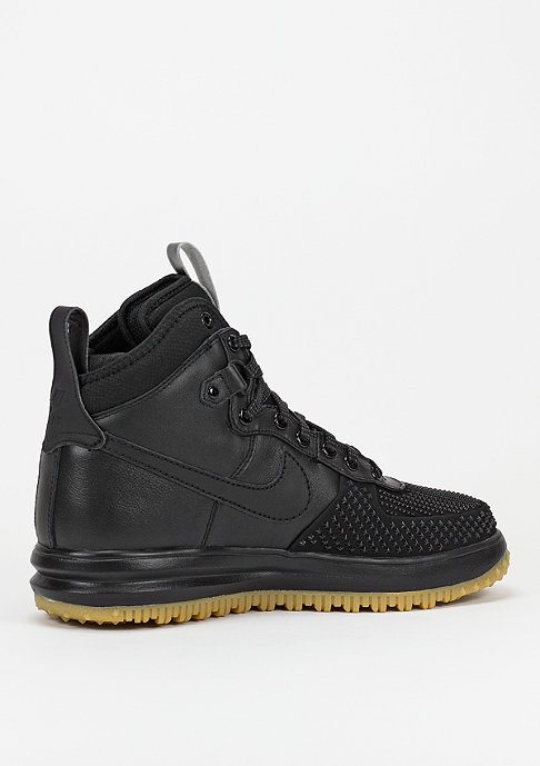 NIKE Schuh Lunar Force 1 Duckboot black/silver/gum light brown