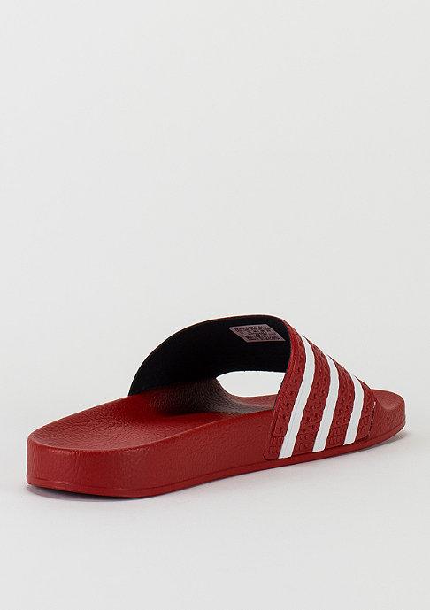adidas Badeschlappe Adilette scarlet