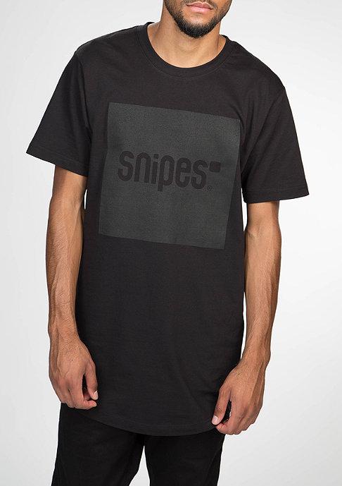 SNIPES T-Shirt Square black/black