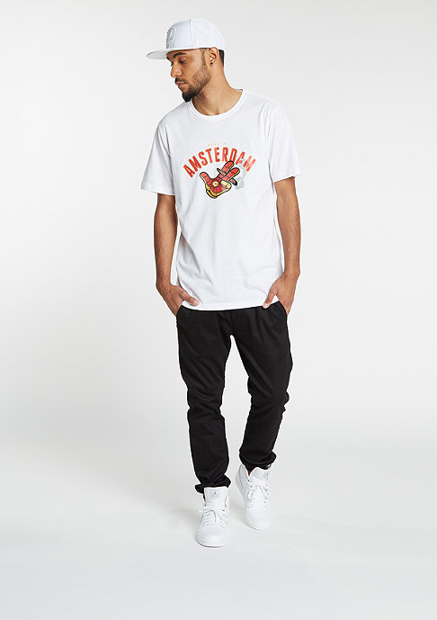 Cayler & Sons T-Shirt Ironic A Dam white/red/gold