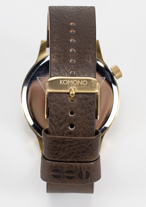 Komono Uhr Winston Regal saddle brown