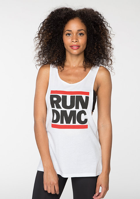 Mister Tee Run DMC Logo white