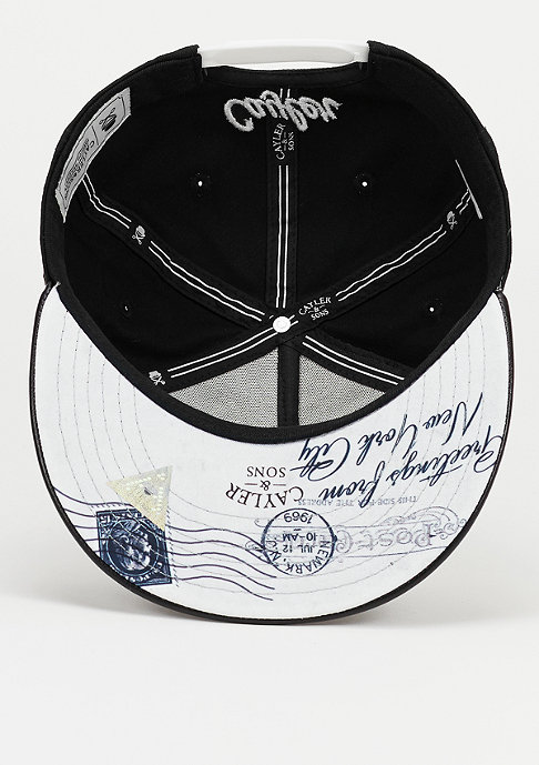 Cayler & Sons Snapback-Cap WL Greetings From Brooklyn black