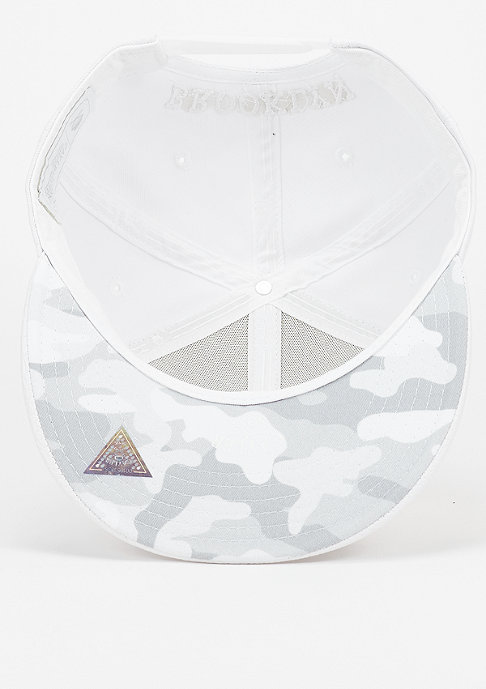 Cayler & Sons Snapback-Cap WL Brooklyn platinum white