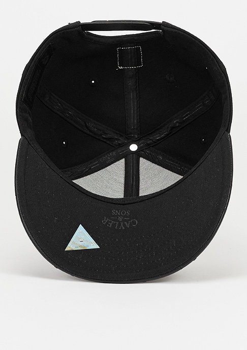 Cayler & Sons Snapback-Cap WL Still No. 1 triple black