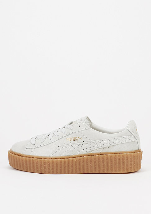 Puma Schuh Suede Creepers Star White/Star White/Oatmeal