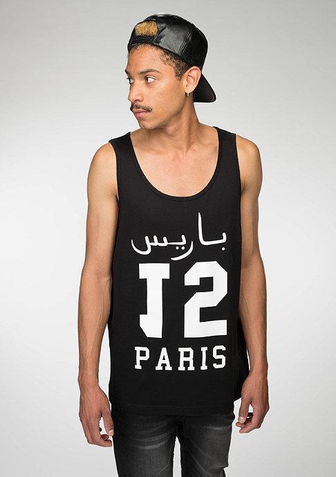 Mister Tee Tanktop Paris 15 black