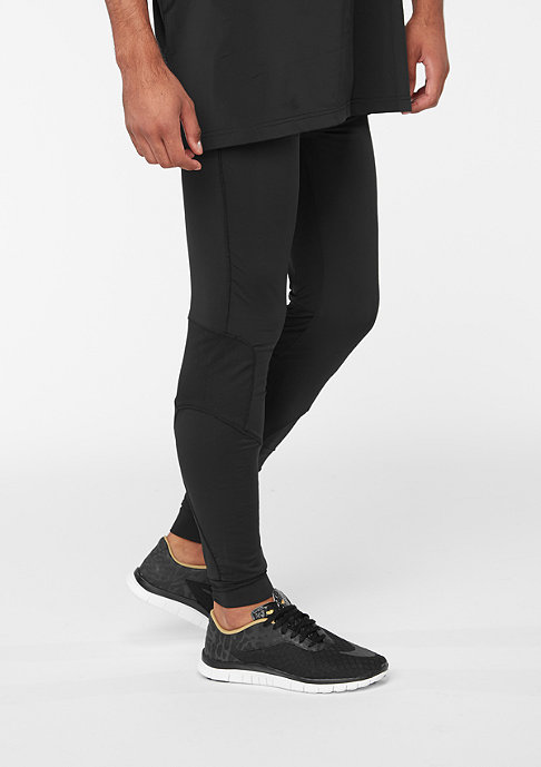 SNIPES Trainingshose Running Tights black