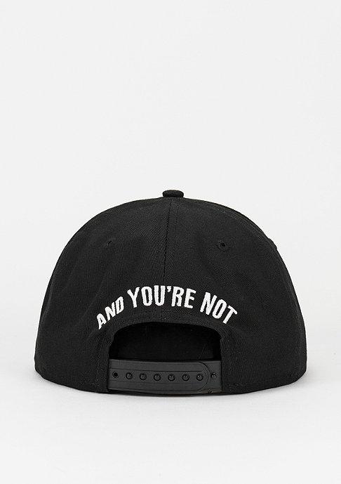 New Era Snapback-Cap Sorry I'm Fresh black