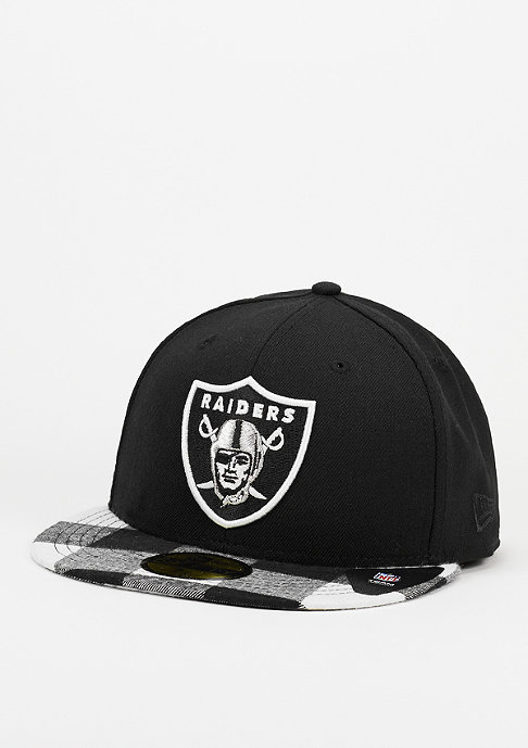 New Era Lumberjack NFL Oakland Raiders black