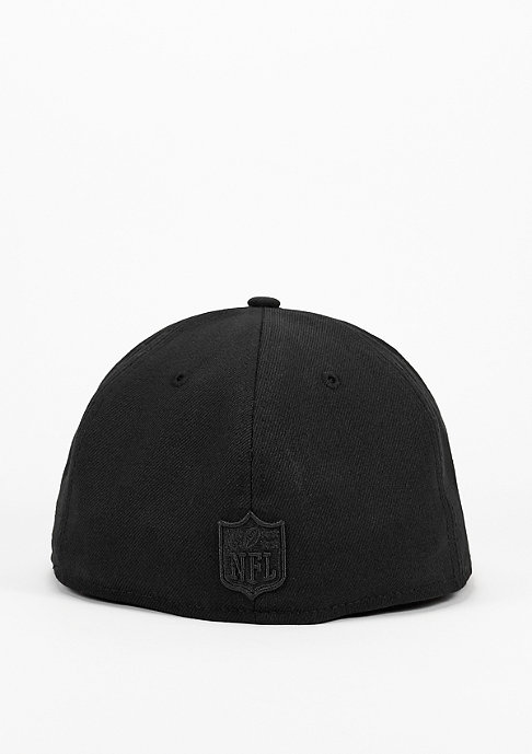 New Era Fitted-Cap Lumberjack NFL Oakland Raiders black