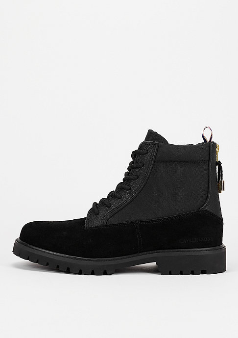 Cayler & Sons Stiefel Hibachi black/stingray/gold