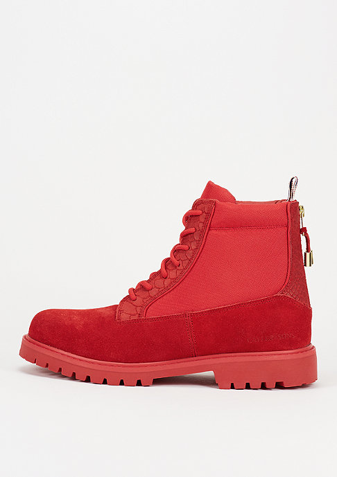 Cayler & Sons Stiefel Hibachi red/red anaconda/gold
