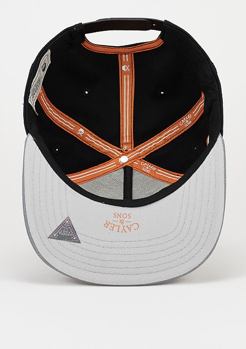 Cayler & Sons C&S Cap Snipes Knows black/cool grey snake/orange