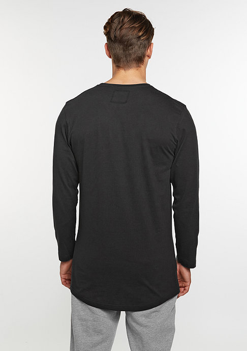 SNIPES Longsleeve Box Logo black