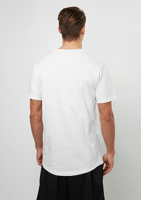 SNIPES T-Shirt Shaped Box Logo white/offwhite