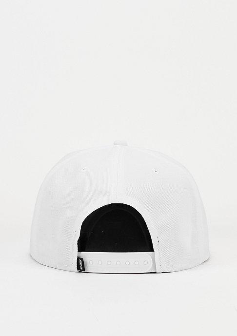 NIKE Snapback-Cap Icon white/wolf grey/black