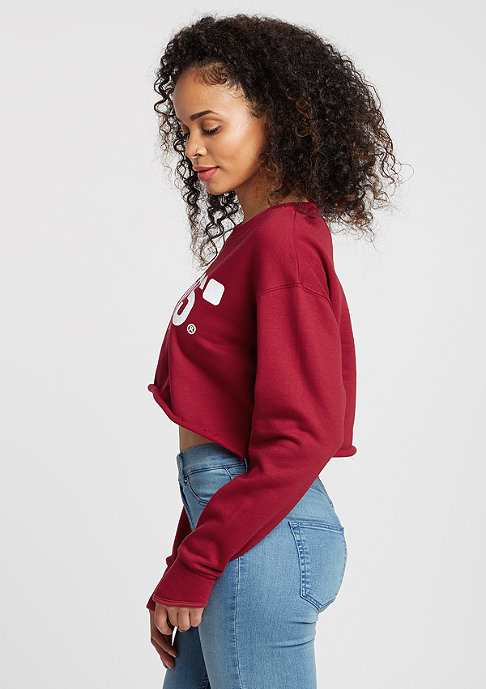 SNIPES Sweatshirt Basic Logo ruby
