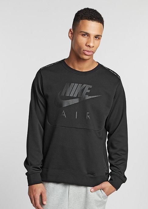 NIKE Sweatshirt Air Hybrid Fleece black/black/black