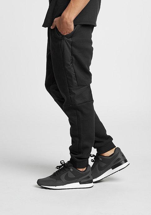 NIKE Trainingsbroek Air Hybrid Fleece Cuffed black/black/black