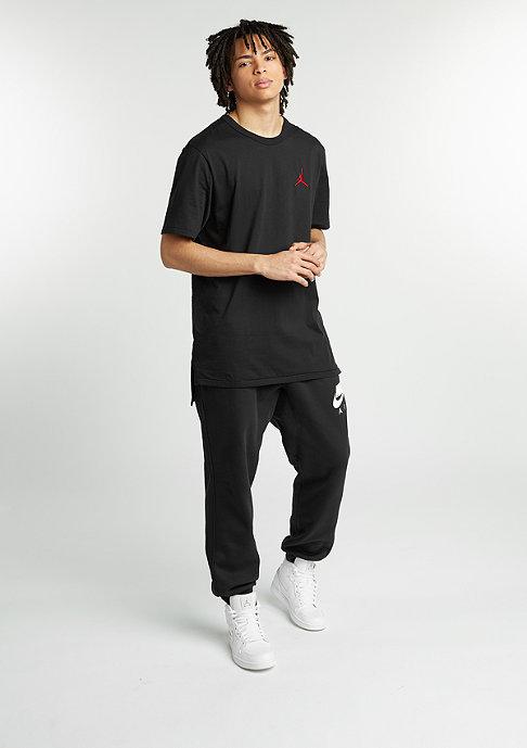 JORDAN T-Shirt Core Long black/gym red