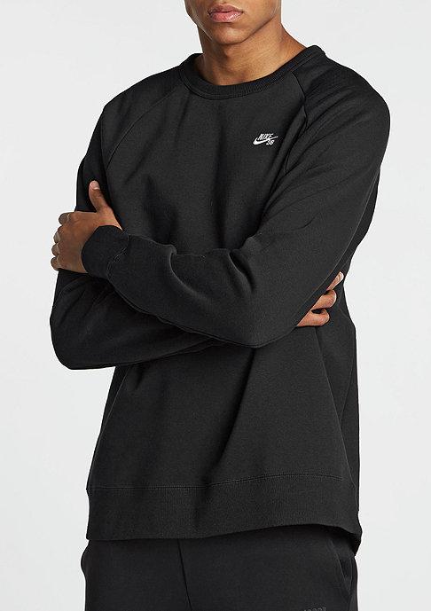 NIKE Sweatshirt Blusao Icon black/white