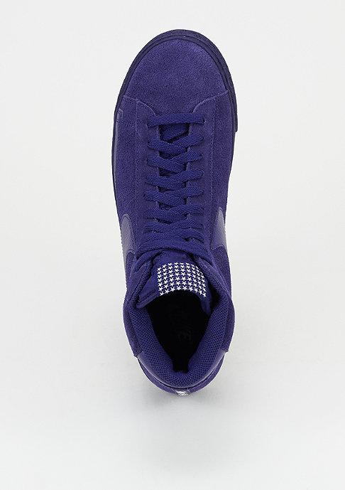 NIKE Schoen Blazer Mid Premium Vintage loyal blue/white/gum light brown