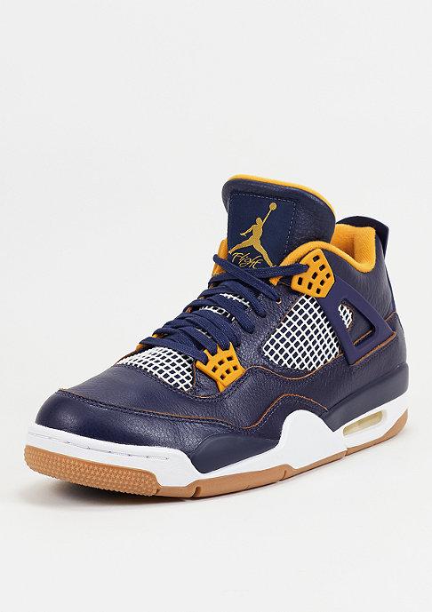 JORDAN Basketbalschoen Air Jordan 4 Retro mid navy/metallic gold/gold