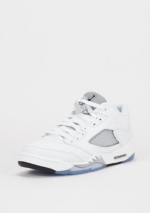 JORDAN Basketbalschoen Air Jordan 5 Retro Low GG white/black/wolf grey