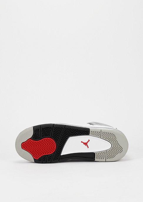 JORDAN Basketbalschoen Air Jordan 4 Retro BG white/fire red/black