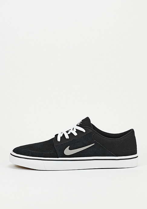 NIKE SB Schoen Portmore black/medium grey/white/gum light brown