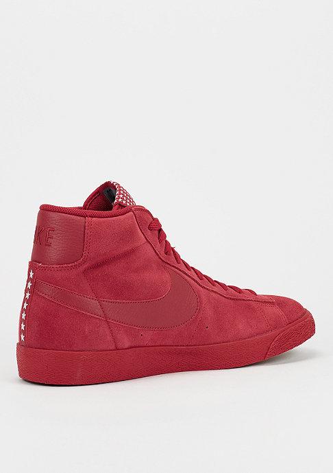 NIKE Schoen Blazer Mid Premium Vintage red
