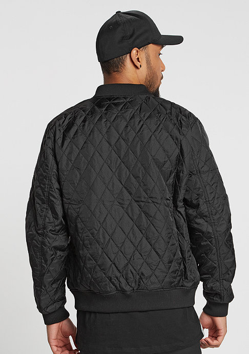 Urban Classics Diamond Quilt Honeycomb black