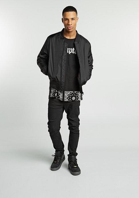 Urban Classics Jas Tech Zip Bomber black