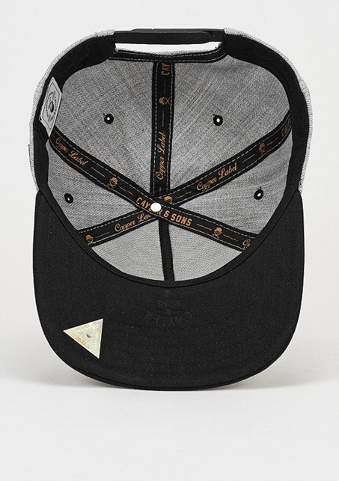 Cayler & Sons Snapback-Cap CL Vinyl grey/black